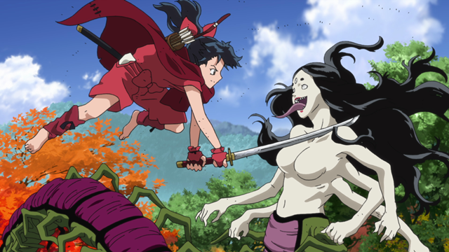 半妖の夜叉姫第2話三匹の姫