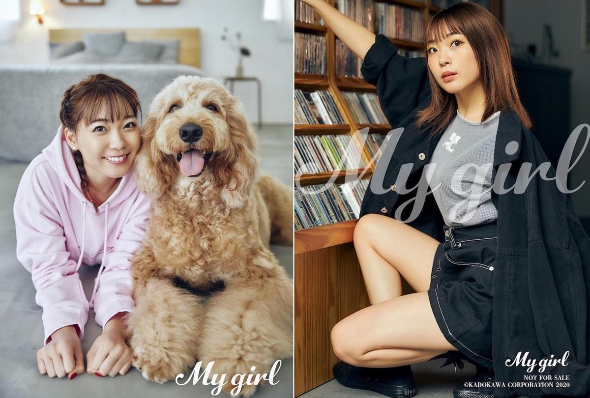 「My Girl」最新号/声優・斉藤朱夏の先行カット公開