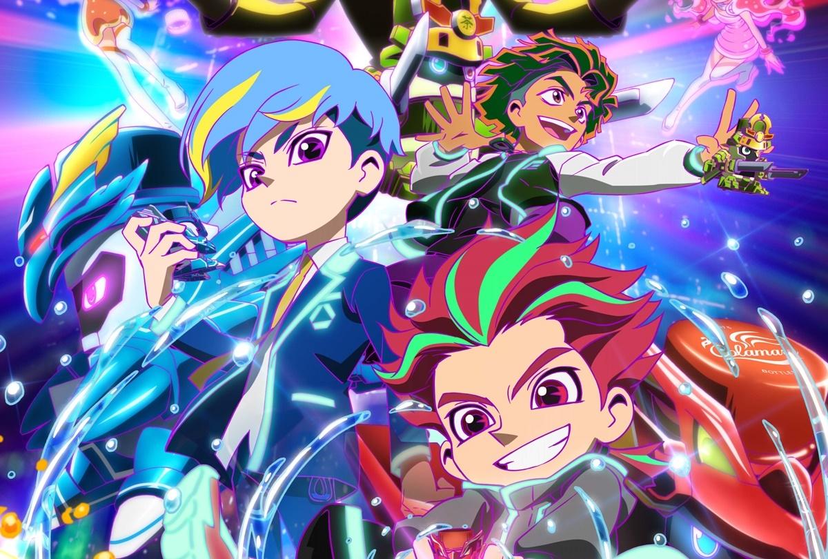 オリジナルアニメ『キャップ革命 ボトルマン』公式YouTubeチャンネルにて配信中