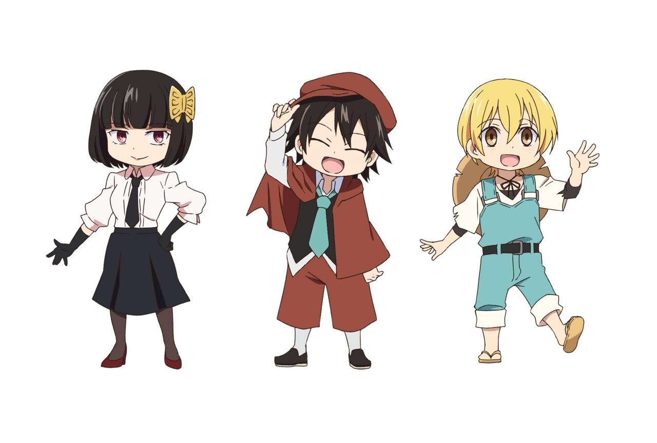 TVアニメ『文スト わん!』キャライラスト&声優情報が公開