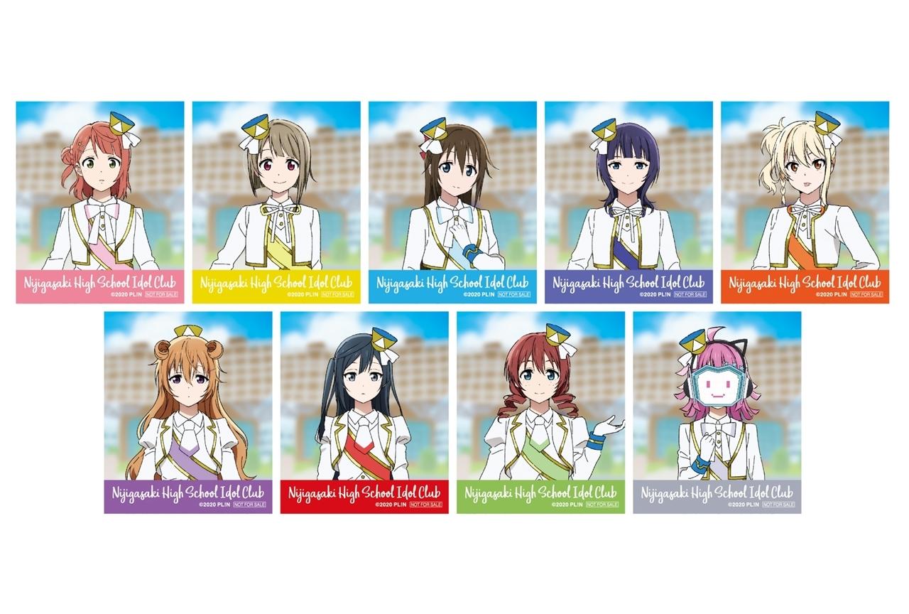 『ラブライブ!虹ヶ咲学園スクールアイドル同好会』アニメ化記念フェアがアニメイトで開催