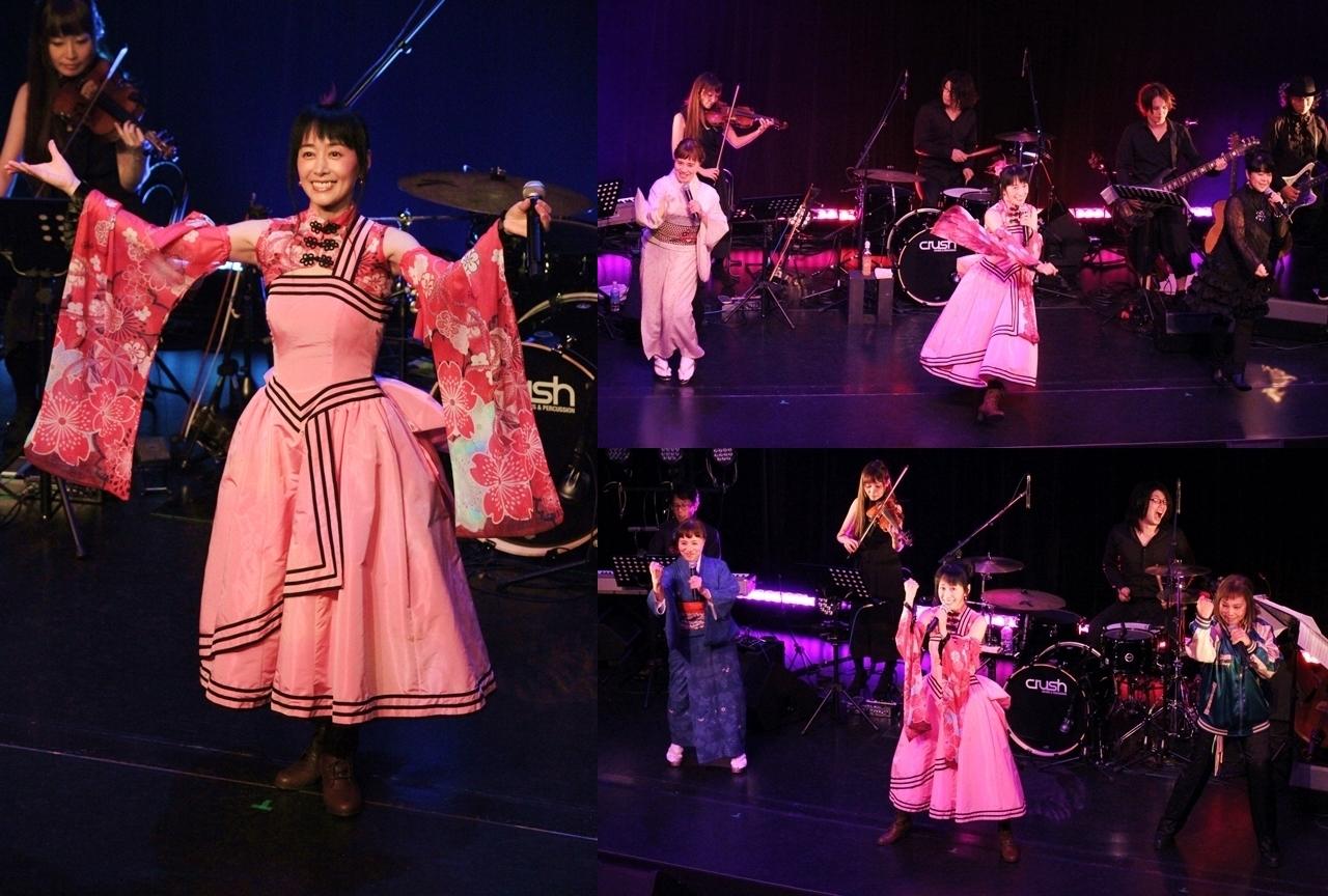 横山智佐さんがサクラ大戦アコースティック音楽会『桜の夕べ』で神曲連発!