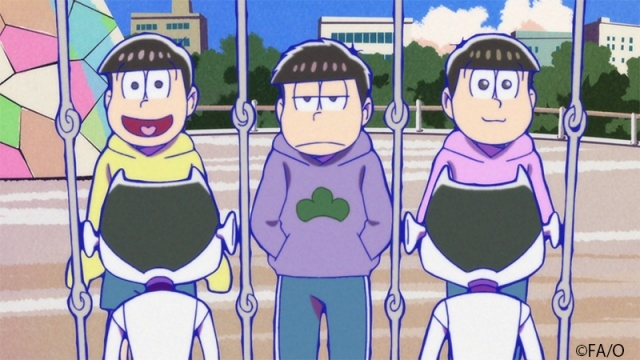 秋アニメ『おそ松さん』第3期 第3話「評価値」ほかより、場面カット公開!