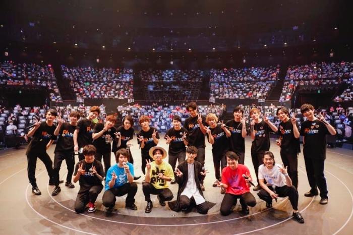オーイシマサヨシ、下野紘、福山潤らが大熱唱! 総勢19名が全30曲を披露したライブ「P's LIVE! -Boys Side-」レポート-1