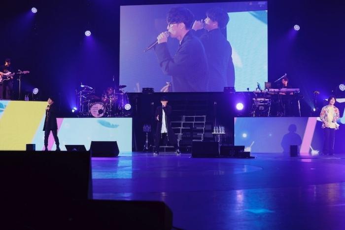 オーイシマサヨシ、下野紘、福山潤らが大熱唱! 総勢19名が全30曲を披露したライブ「P's LIVE! -Boys Side-」レポート-14