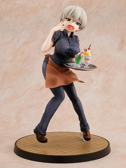 『宇崎ちゃんは遊びたい!』より、ヒロインの「宇崎花」が原作版・喫茶アジアの制服姿でフィギュア化! 制服姿でもSUGOI-DEKAI!【今なら15%OFF!】