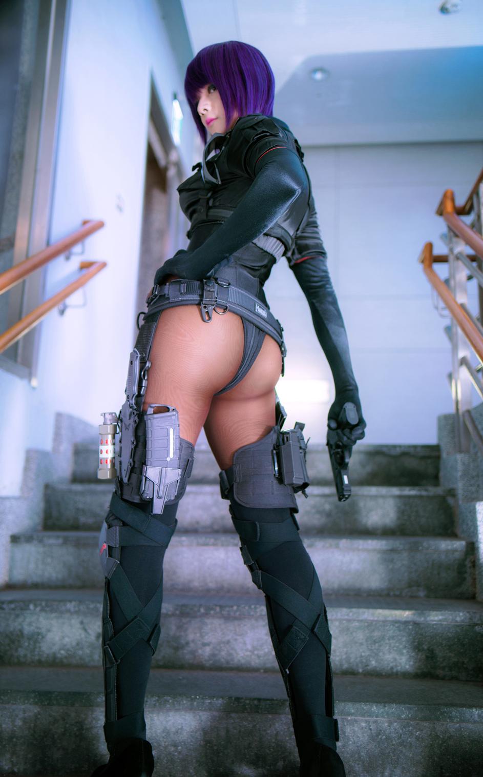 アニメ『攻殻機動隊』シリーズより、女性型サイボーグ「草薙素子」のコスプレ特集! 圧倒的強さを持つクールビューティーな彼女に扮するコスプレイヤーさんたちの写真をお届け!