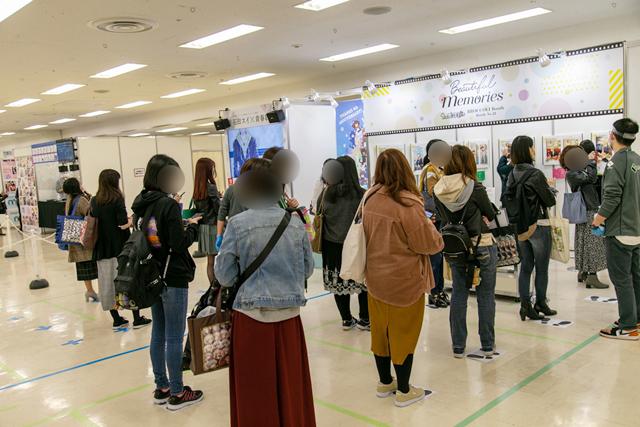 「アニメイトガールズフェスティバルあおぞらマルシェ」新型コロナウイルス感染症対策を講じ屋内外の会場で開催11月7日・8日に開催! 総来場人数は14,974人!