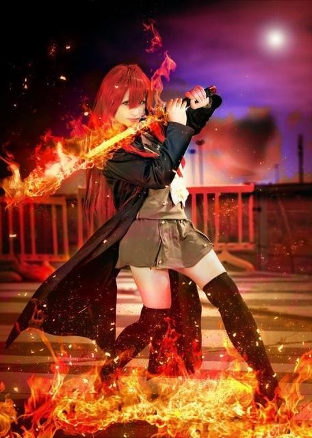 人気アニメ『灼眼のシャナ』より、炎髪灼眼の討ち手・シャナのコスプレ写真を紹介! 可憐な姿のシャナをお届け!-10