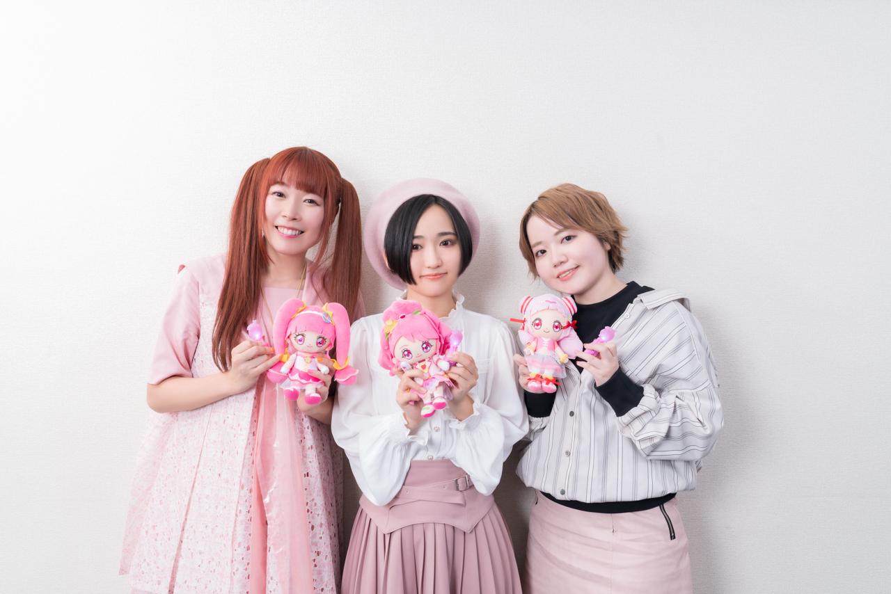 『映画プリキュア』悠木碧、成瀬瑛美、引坂理絵、3世代インタビュー