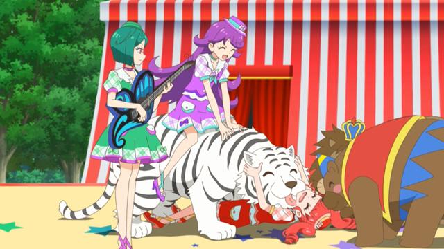 キラッとプリ☆チャン第128話アリスを守れ!サンシャインサーカスエリアの奇跡!