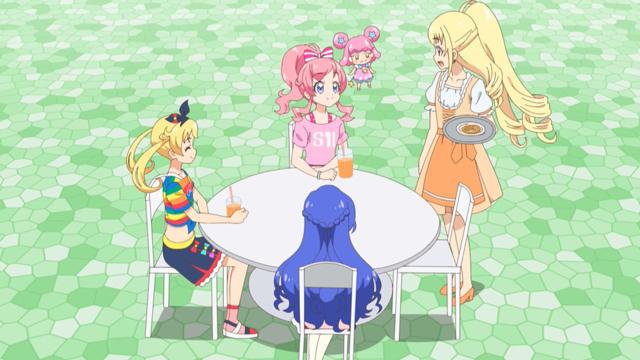 TVアニメ『キラッとプリ☆チャン』第128話先行場面カット・あらすじ到着!スペシャルライブを行うことになったアリスと、その準備を手伝うソルル、しかしトラブルに直面して……