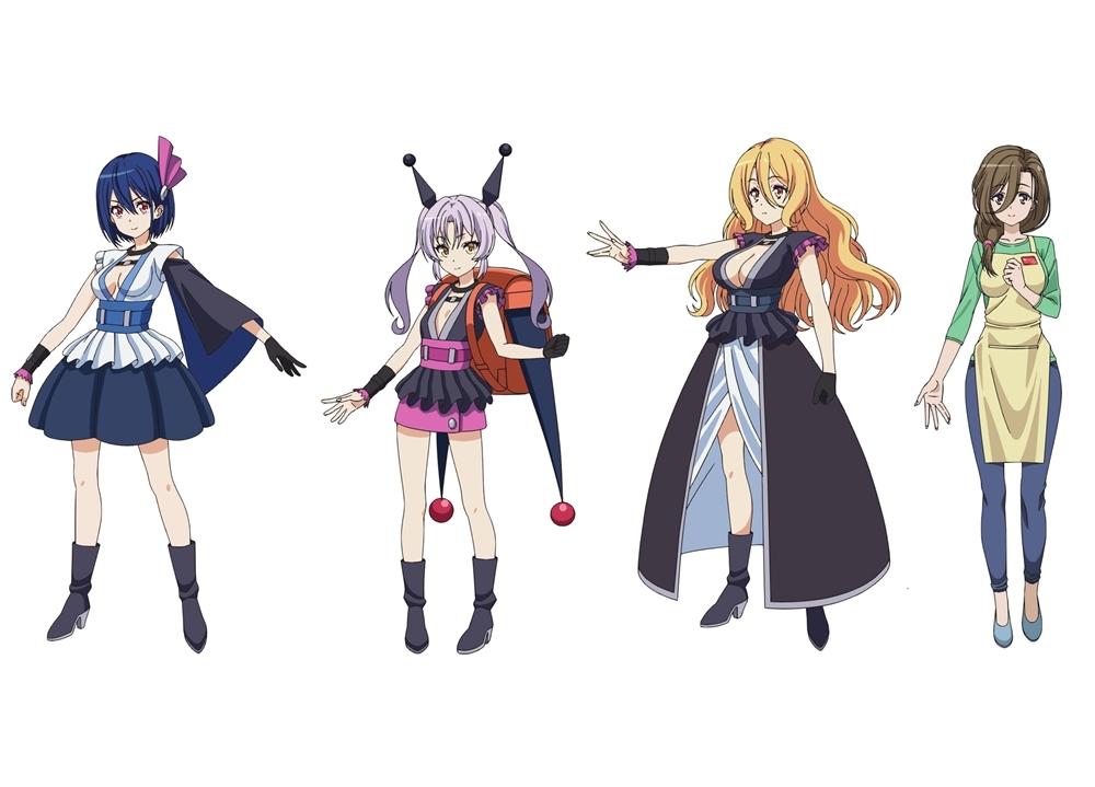 冬アニメ『WIXOSS DIVA(A)LIVE』追加声優に幸村恵理,、M・A・Oら4名発表!