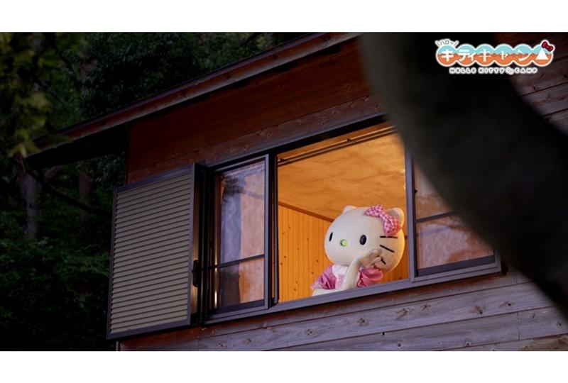 『ゆるキャン△』と『ハローキティ』のコラボ動画の第3話公開