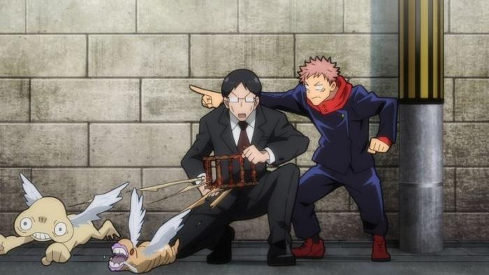 秋アニメ『呪術廻戦』第10話「無為転変」の場面カット・あらすじが公開!