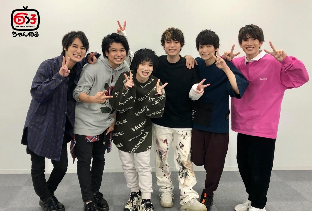 舞台『おそ松さん』6つ子を演じる俳優陣がYouTubeチャンネルを開設!