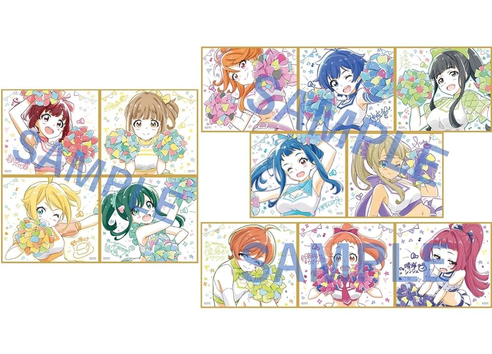 完全新作アニメ『ナナシス』3週連続・週替わり来場者特典が決定!