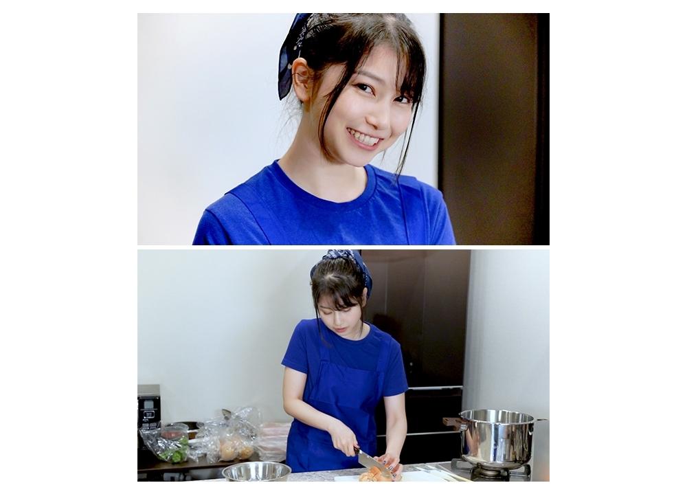 声優・雨宮天の料理動画「雨宮天の屈服クッキング」初公開!