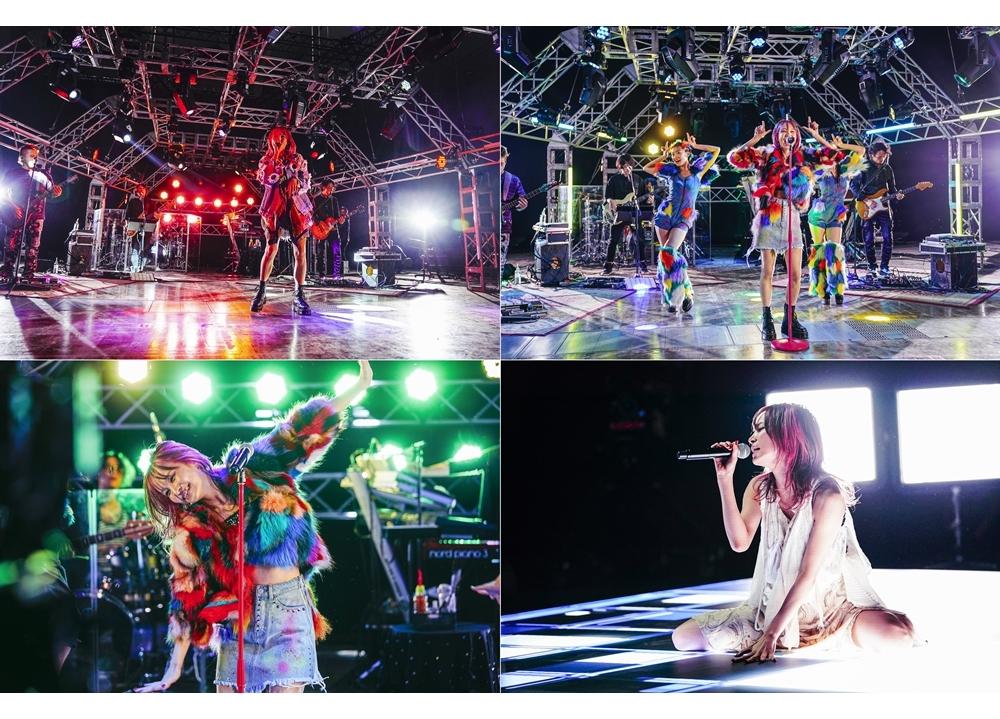 人気歌手・LiSA初のオンラインライブより公式レポ到着!
