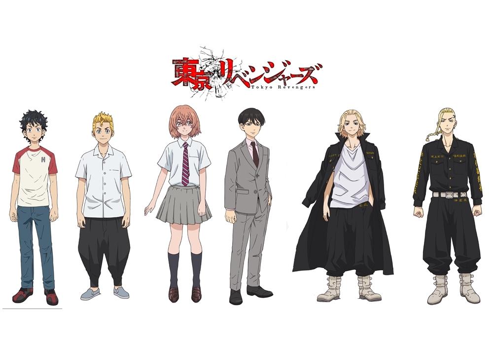 TVアニメ『東京リベンジャーズ』新祐樹・和氣あず未ら声優決定!