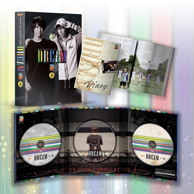 BD&DVD「ミュージカル『テニスの王子様』Dream」の収録内容&ジャケ写公開! テニミュ3rdシーズンを締めくくる撮りおろし企画映像を収録の画像-2