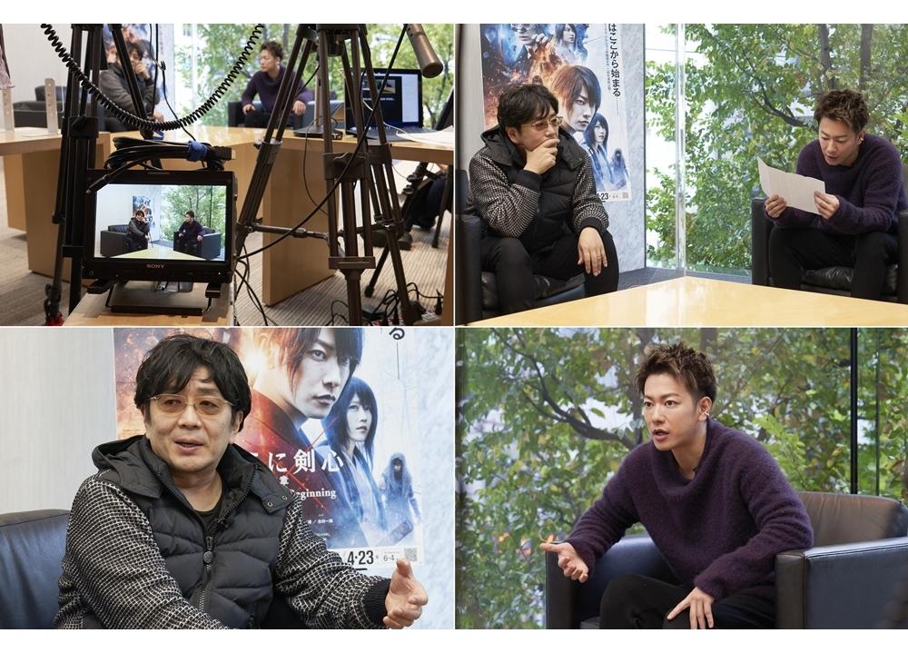 映画『るろうに剣心 最終章』佐藤健×大友啓史監督SP対談の公式レポ到着