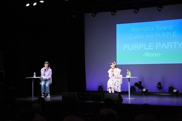 TVアニメ『バトルアスリーテス大運動会 ReSTART!』声優・諏訪ななかさんの歌う「コバルトの鼓動」がOPテーマに決定! ミニアルバム『Color me PURPLE』発売記念イベントで大発表-5