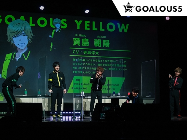 男性声優5人組グループ「GOALOUS5」がオンラインイベント「声福大作戦〜新作戦!虜にさせるのだ!〜」を実施! 生ライブや朗読劇を披露-7