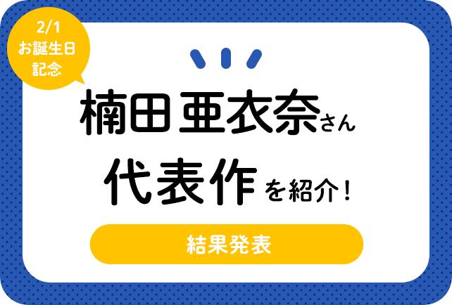 声優・楠田亜衣奈さん、アニメキャラクター代表作まとめ(2021年版)