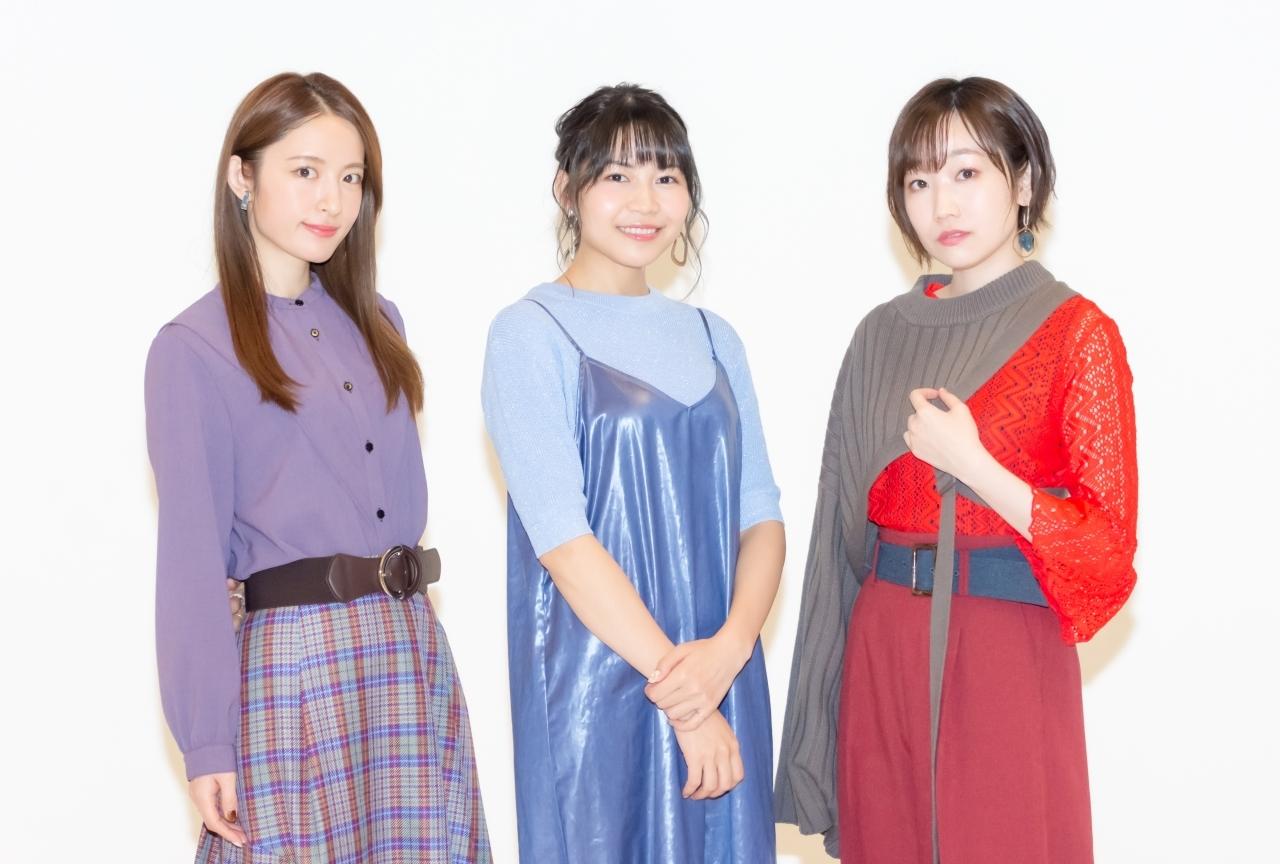 アニメ『半妖の夜叉姫』松本沙羅、小松未可子、田所あずさインタビュー
