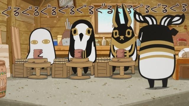 WEBアニメ『とーとつにエジプト神』第8話「とーとつにアイドル」「とーとつにとーげい」あらすじ&場面カットが公開!