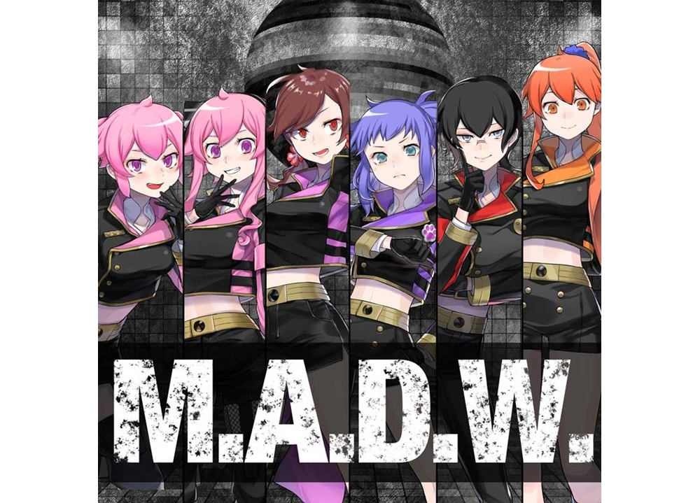 女子高生Vtuber「言霊少女プロジェクト」新曲『M.A.D.W.』が1/25から配信スタート、MV公開!