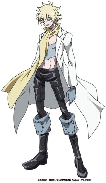 春アニメ『SHAMAN KING(シャーマンキング)』ドイツ出身のネクロマンサー・ファウストⅧ世役は子安武人さんに決定!