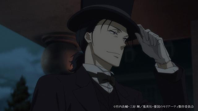 TVアニメ『憂国のモリアーティ』2021年4月放送の2クール目より、新カット満載予告PV解禁! BD&DVD第1巻は本日発売