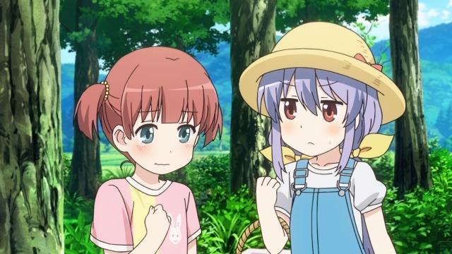冬アニメ『のんのんびより のんすとっぷ』第四話「トマトを届けるサンタになった」の先行カット到着! 夏休み、ひかげが東京から帰ってきて……?