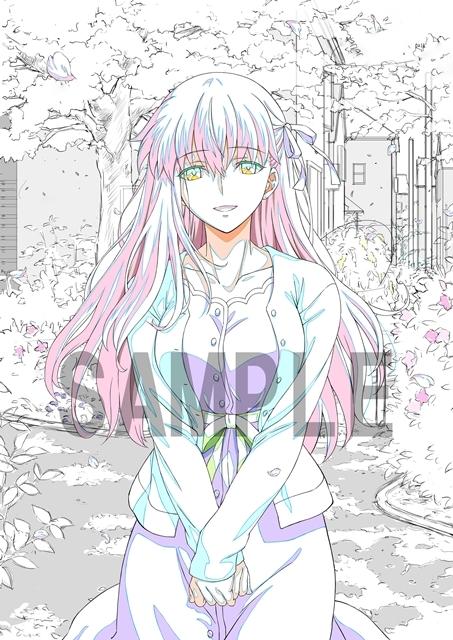 劇場版「Fate/stay night [Heaven's Feel]」III.spring songのスペシャルダイジェスト映像公開! アニメイト&ゲーマーズの特典描き下ろしイラスト線画も解禁-2