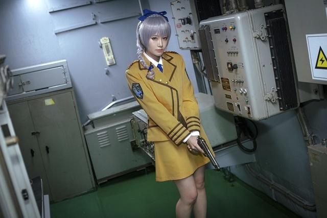 人気作『フルメタル・パニック!』より、総司令官であり艦長でもある「テレサ・テスタロッサ」のコスプレ特集! テレサの可憐な写真をお届け-4
