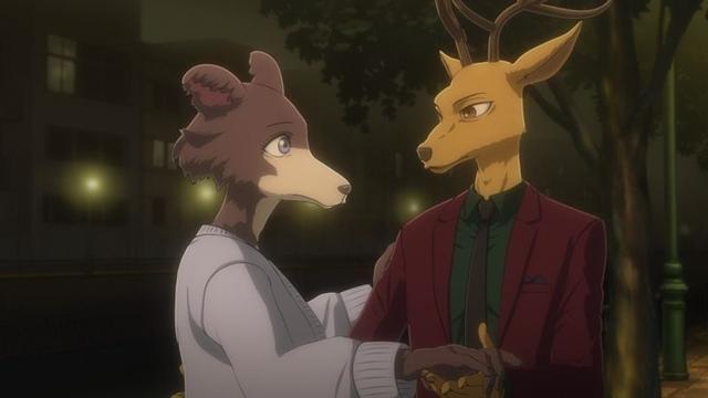 冬アニメ『BEASTARS』第2期:第17話より先行場面カット&あらすじ到着! ゴウヒンに弟子入りしたレゴシが学園に帰ってくる