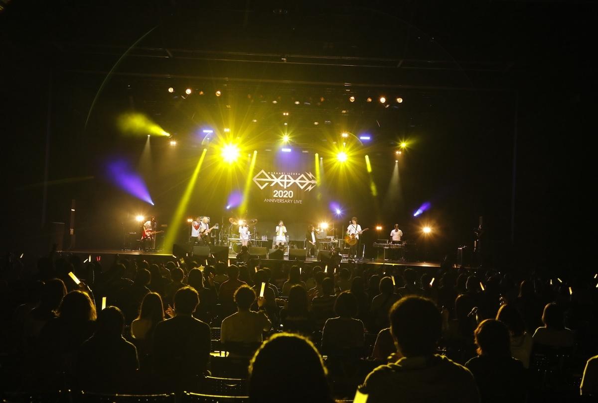 """「飯塚昌明 ANNIVERSARY LIVE """"e-XPO 2020""""」オフィシャルレポート到着"""