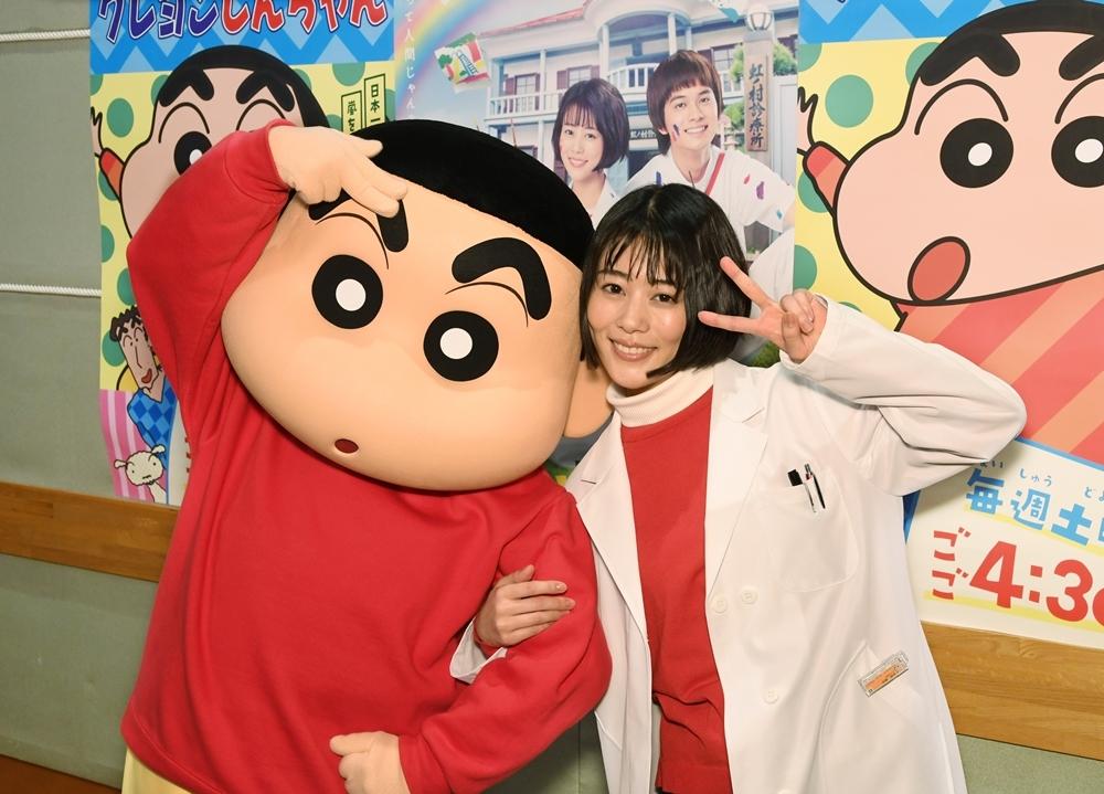 TVアニメ『クレヨンしんちゃん』2/13にドラマ『にじいろカルテ』とのコラボエピソードを放送!