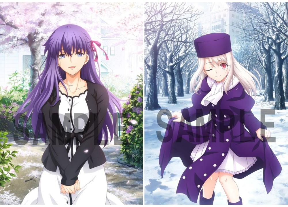 劇場版「Fate/stay night [HF]」第三章【BD完全生産限定版】より、アニメイト・ゲーマーズ特典イラストが完成!