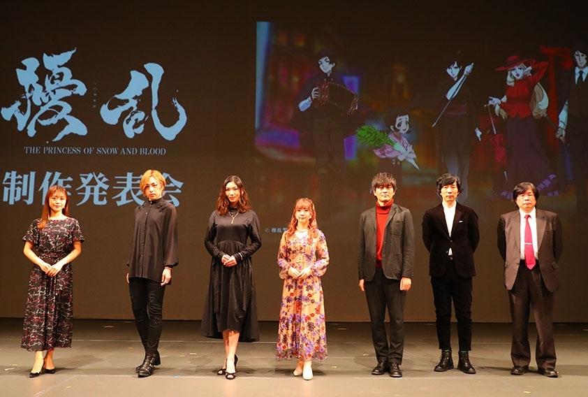 三森すずこ、蒼井翔太ら出演声優が集結した春アニメ『擾乱』制作発表会レポート