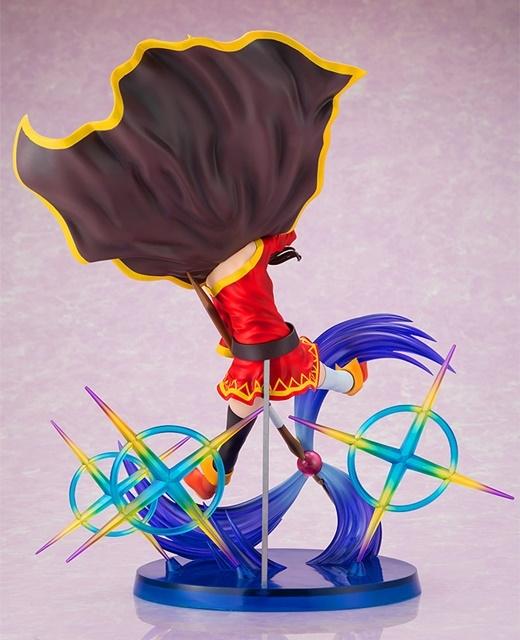 アニメ『この素晴らしい世界に祝福を!』豪快に爆裂魔法を解き放つ「めぐみん」が1/7スケールでフィギュア化!【今なら17%OFF!】