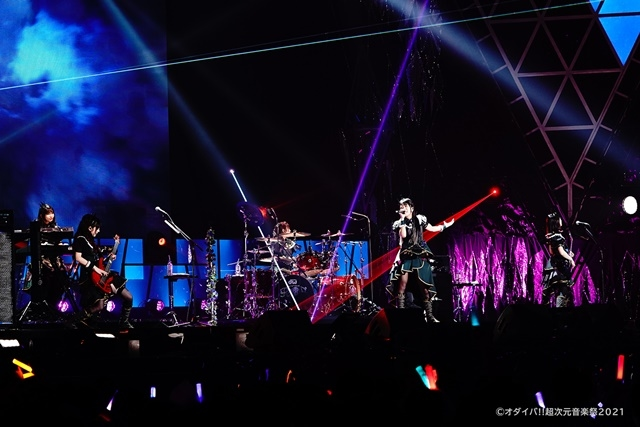Aqours、TRUEさん、早見沙織さん、ReoNaさん、Roseliaらが圧巻のパフォーマンスを繰り広げた「オダイバ!!超次元音楽祭 -ヨコハマからハッピーバレンタインフェス2021-」2月14日公演レポート