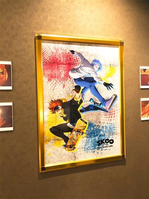 冬アニメ『SK∞ エスケーエイト』のコラボカフェがアニメイトカフェ池袋4号店にて、3月15日(月)までの期間限定で開催!!