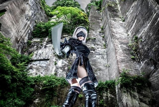『ニーアオートマタ』2B、『SAO』アスナなどコスプレイヤー・マジョノカ渚の写真&インタビューを特集