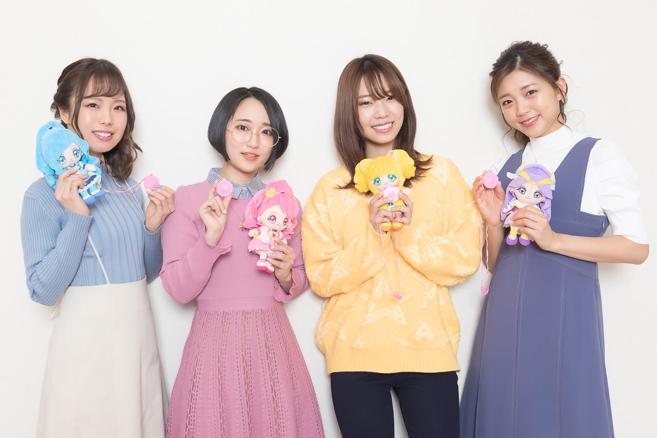 『ヒープリ』悠木碧、依田菜津、河野ひより、三森すずこインタビュー