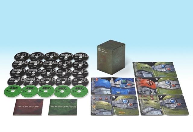 アニメ『ボトムズ』シリーズの全映像作品を収録した初のBlu-ray BOXが登場! Blu-ray20枚、オリジナルサントラCD5枚、特製ブックレット2冊封入!!-1