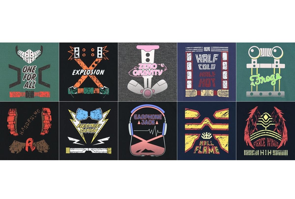 【ACOS】ヒロアカ オーバーサイズTシャツ(全10種)発売決定