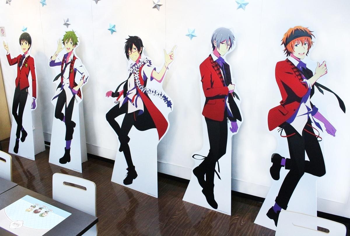 『アイドルマスター SideM』アニメイトカフェ池袋・天王寺・名古屋でコラボ開催中